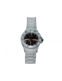 Sport Watch - white and brown