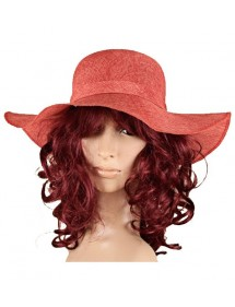 Red Chapeau polyester