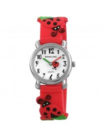 Ladybird watch Excellanc red silicone strap 4200003-002 Excellanc 19,90 €