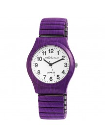 Adrina women's watch with purple metal strap 1700045-011 Adrina 15,00 €