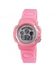 Montre femme Sportline avec bracelet en silicone rose 1400003-001 Sportline 18,00€