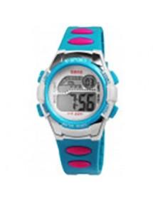 Montre numérique à Quartz QBOS bracelet Silicone muticolore 4400001-003 QBOSS 19,90€