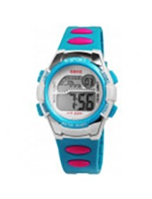 Qbos digital watch for children, blue and pink strap 4400001-003 QBOSS 16,00 €
