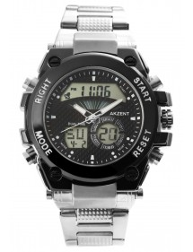 Akzent men's digital watch and hands with metal strap 2420024-001 Akzent 49,90 €