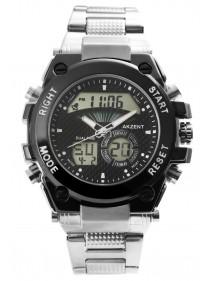 Montre digital et aiguilles Akzent pour homme avec bracelet en métal 2420024-001 Akzent 49,90€