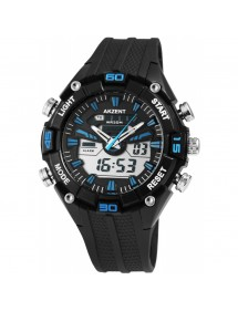 Akzent men's blue and black watch with silicone strap 24200016-002 Akzent 39,90 €