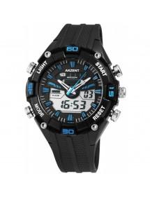 Montre homme Akzent couleur bleu et noir avec bracelet en silicone 24200016-002 Akzent 39,90€
