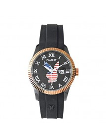 Watch PLAYBOY AMERICA USA 38 BG - Black USA38BG Playboy 29,90 €