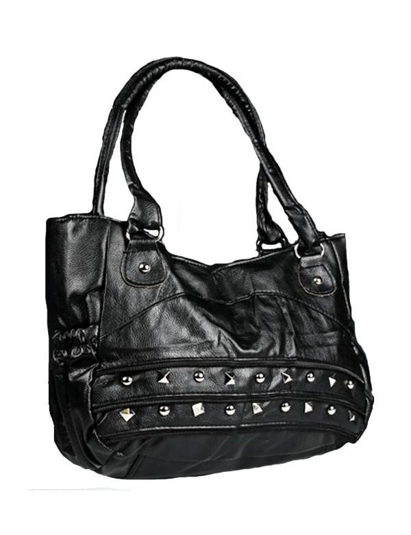 Grand sac à main 43 x 30 cm - Couleur noir 38424 Paris Fashion 18,00€