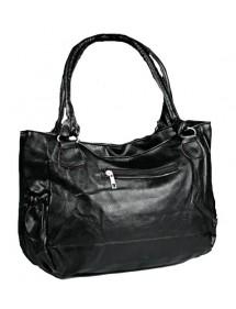 Large handbag 43 x 30 cm - Black color 38424 Paris Fashion 18,00€