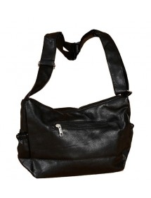 Black feeling handbag
