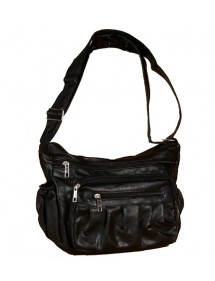 Shoulder bag 35 x 25 cm - Black 35986 Paris Fashion 14,00 €