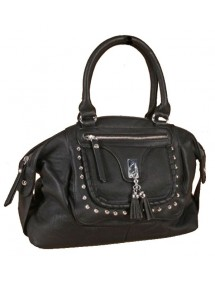Bolso diosa grande 40 x 30 cm - color negro 35551 Paris Fashion 29,90 €