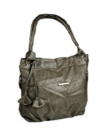 Vintage Handtasche 42 x 32 cm - Khaki 38429 Paris Fashion 19,90 €