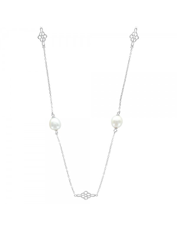 Necklace with cultured freshwater pearls and arabesques 31710417 Laval 1878 84,00€