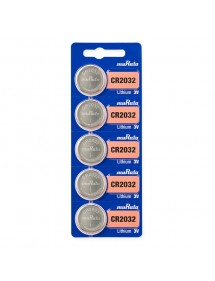 Sony lithium CR2032 battery (x5) 490032-5 Sony 4,50 €