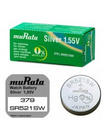 1 Box of 10 Sony Murata 379 SR521SW button batteries without mercury 4937910-10 Sony 19,90 €
