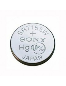Sony Murata SR716SW 315 button cell mercury free 4931510 Sony 3,15€