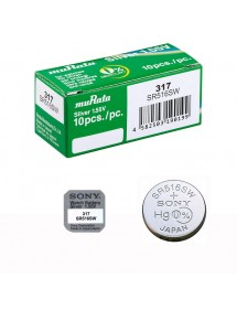 Sony Murata SR516SW 317 button cell battery box mercury free 4931710-10 Sony 22,50 €