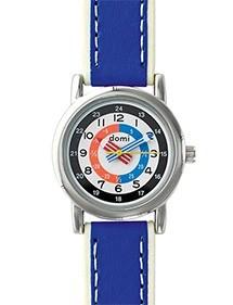 Montre pédagogique DOMI, bracelet synthétique bleu 753270 DOMI 49,90€