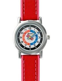 Montre pédagogique DOMI, bracelet synthétique rouge 753271 DOMI 49,90€