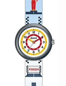 "Children's watch ""Course auto"" plastic case and strap 753977 DOMI 39,90 €"