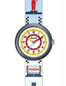 """Children's watch """"Course auto"""" plastic case and strap 753977 DOMI 39,90€"""