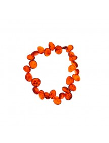 301/5000 Original bracelet with elastic in genuine cognac amber 3180544 Nature d'Ambre 39,90 €