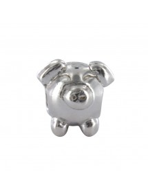 """Baci Belli """"Animal of the meadows"""" The Pig in rhodium silver 314019 Baci Belli 29,90€"""