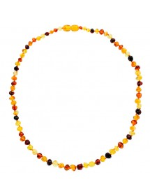 Necklace made of small multicolored amber stones 31710466 Nature d'Ambre 59,90 €
