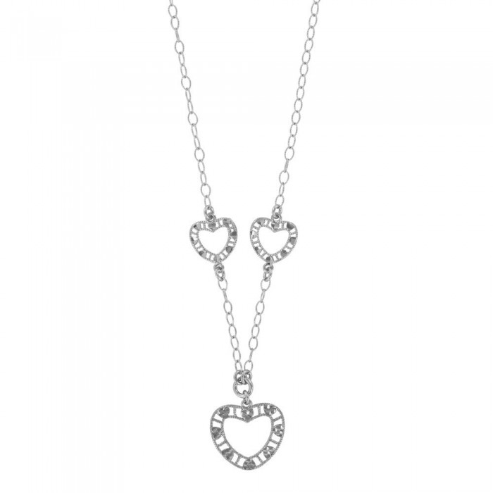 Silver heart necklace 925/1000 Rhodium 3171020 Laval 1878 42,00 €