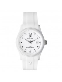 Montre PLAYBOY CLASSIC 42WW - Blanche CLAS42WW Playboy 29,90 €