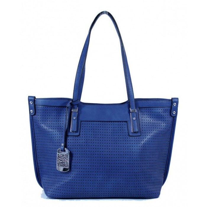 Cabas perforated area Tom & Eva - Blue 15A-515-Blue Tom&Eva 42,00 €