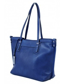 Cabas perforated area Tom & Eva - Blue 15A-515-Blue Tom&Eva 45,00 €
