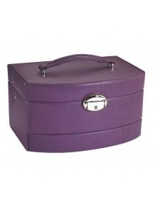 Coffre à bijoux façon vachette - Violet 115,00€ 115,00€