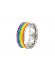 Rainbow stainless steel ring 311422 One Man Show 22,00 €