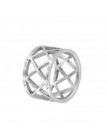 Openwork steel ring 311476 One Man Show 32,00€