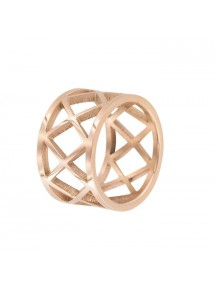 Pink openwork steel ring 311477 One Man Show 32,00€
