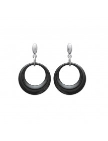 Earrings steel ceramic One Man Show 3131156 One Man Show 36,00 €