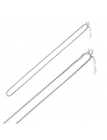 Venetian mesh steel necklace 45 cm 3170930 One Man Show 36,00 €