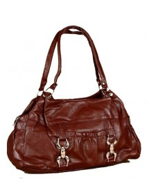 Woman's handbag dimensions 38 x 28 cm - Brown 35997 Paris Fashion 18,00 €