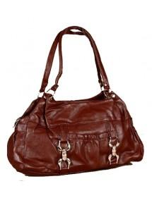 Woman's handbag dimensions 38 x 28 cm - Brown 35997 Paris Fashion 18,00€