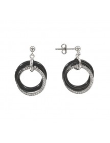Earrings Black on White 313 1148N Noir sur Blanc 69,00 €