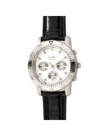 Montre mixte chronographe cadran blanc Jean Patrick 12,90€ 12,90€
