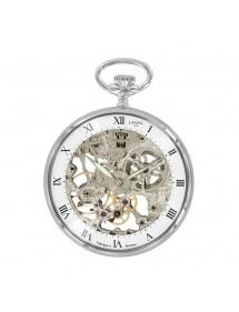 Laval 1878 mechanische Uhr und Skelettuhr, Silber 755245 Laval 1878 299,00€