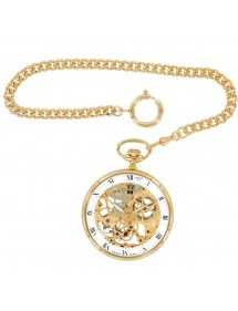 Laval 1878 clock and mechanical skeleton watch, golden yellow 755244 Laval 1878 299,00 €