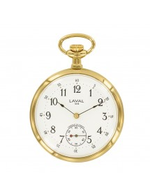 Laval 1878 pocket watch, dual display, 3 hands 755257 Laval 1878 249,00 €