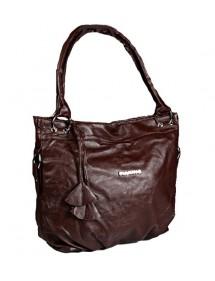 Sac à main vintage 42 x 32 cm - Chocolat 38428 Paris Fashion 19,90€