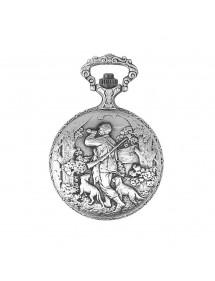 Reloj de bolsillo LAVAL, paladio con tapa con motivo de caza. 755302 Laval 1878 129,90€