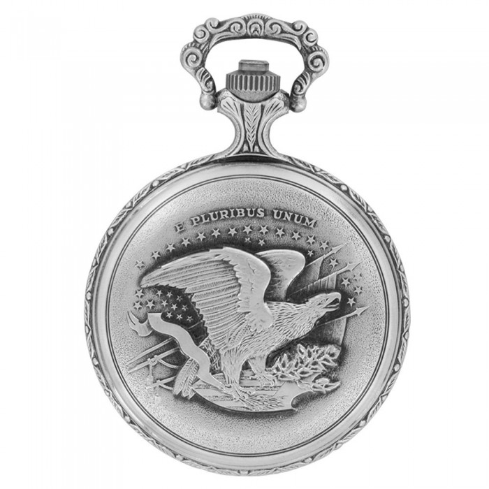 LAVAL pocket watch, palladium with motorcycle cover 755259 Laval 1878 129,90€